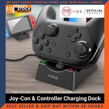IINE Nintendo Switch Joy-Con & Pro Controller LED Indicator Charging Dock L347