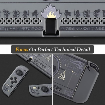 Zelda Hard Shell Case Handheld Grip for Nintendo Switch Console and Joy-Con Controllers