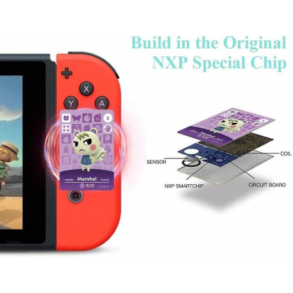 Animal Crossing Mini NFC Cards New Horizon Tag Game Card for Nintendo Switch / Switch Lite / Wii U 72 PCS