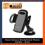 Rock Deluxe Windshield Phone Holder - Grey