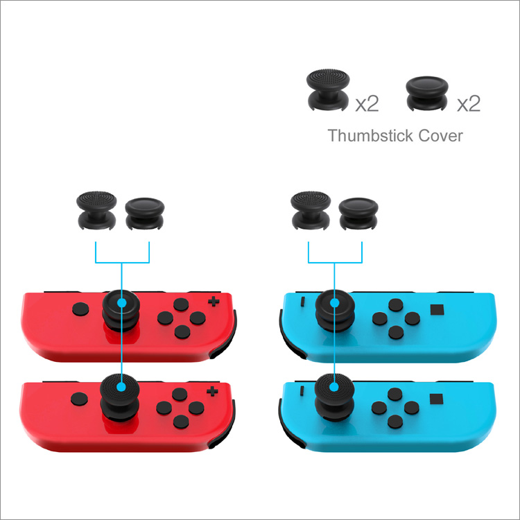 DOBE PROTECTIVE PACK FOR NINTENDO SWITCH TNS-1899