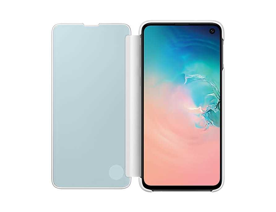 Original Samsung Galaxy S10E Clear View Cover Case S10E Case