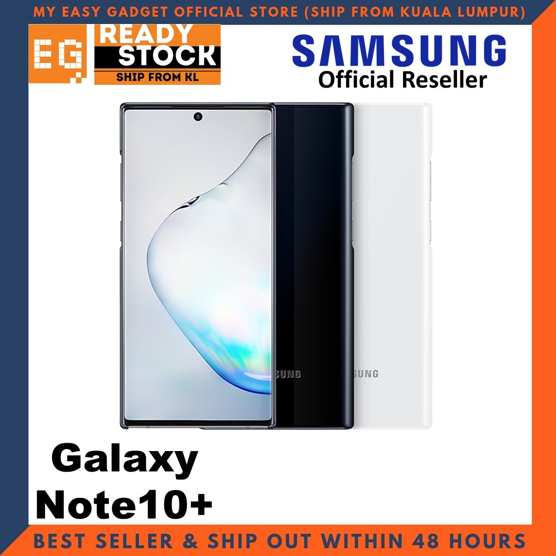 Original Samsung Note 10 Plus Case Led Cover Back Case Note 10 + Case