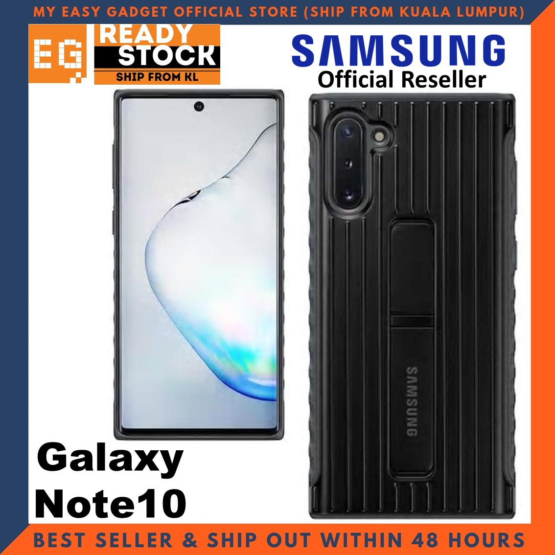 Original Samsung Note 10 Case Protective Standing Cover Note10 Case