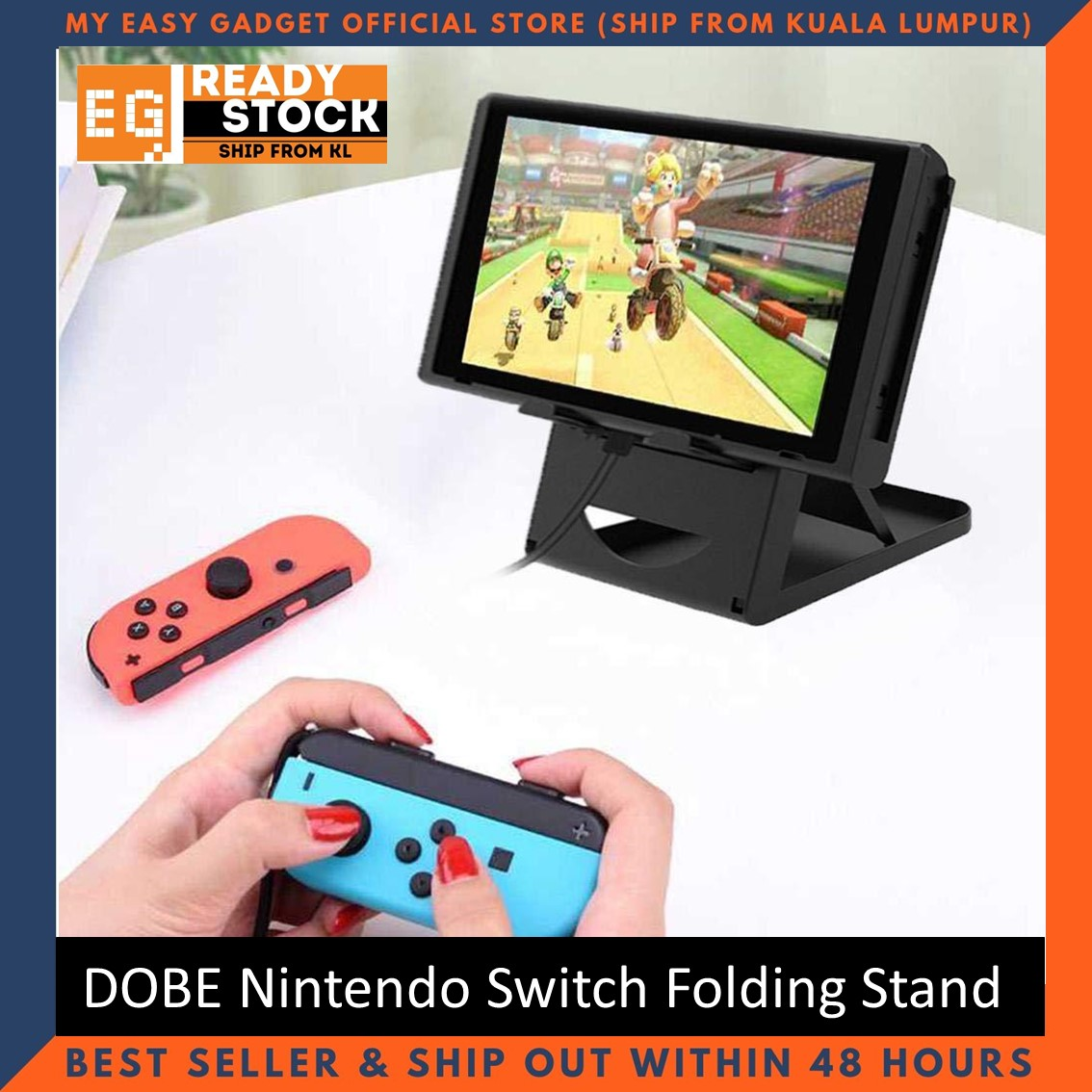 Dobe Nintendo Switch Foldable Compact Adjustable Stand 3 Angle TNS-1788