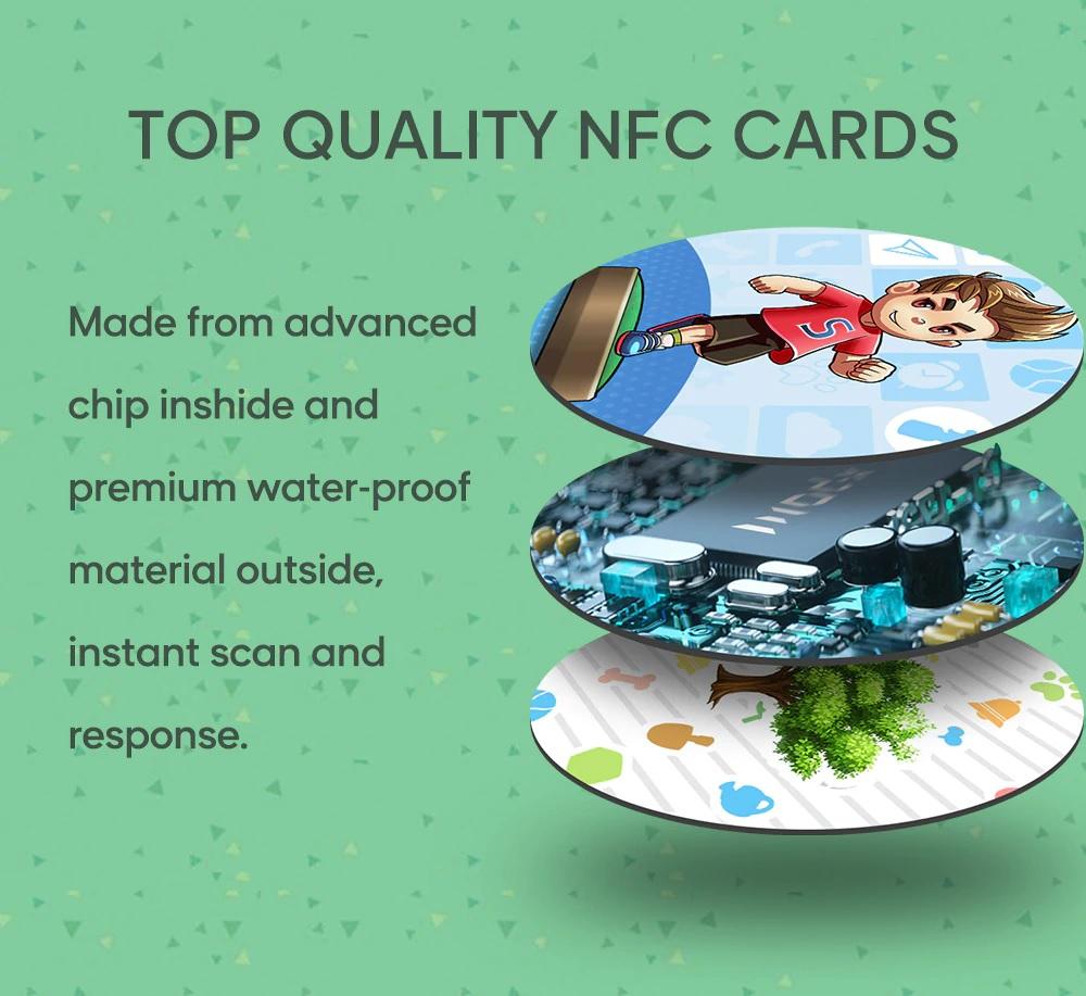 50Pcs / 24Pcs / 18Pcs Animal Crossing Amiibo NFC Card for Nintendo Switch NS Wii U 3DS lite Animal Crossing Series