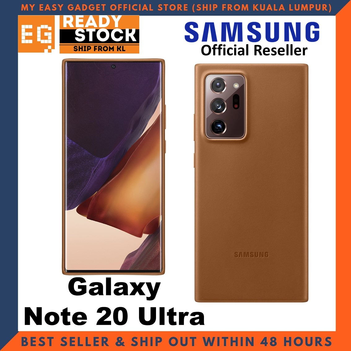 Original Samsung Galaxy Note 20 Ultra Leather Cover Case Samsung Note 20 Ultra Case