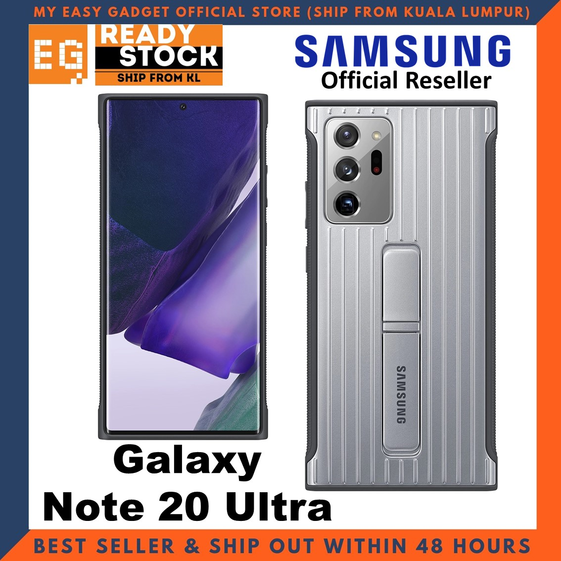 Original Samsung Galaxy Note 20 Ultra Protective Standing Cover Case Rugged Protective Cover Samsung Note 20 Ultra Case