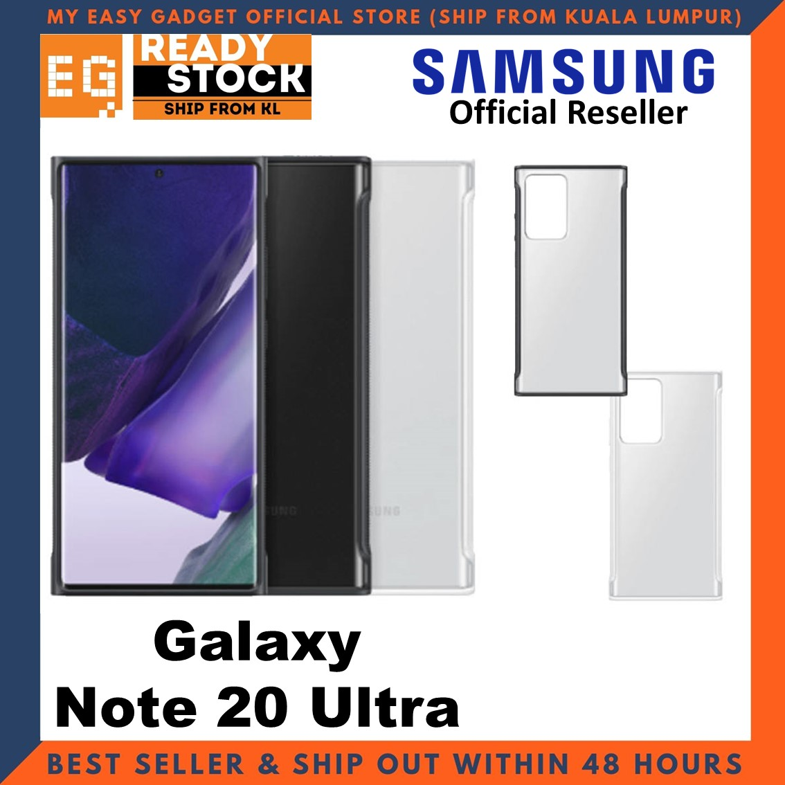 Original Samsung Galaxy Note 20 Ultra Clear Protective Case Cover Samsung Note 20 Ultra Case