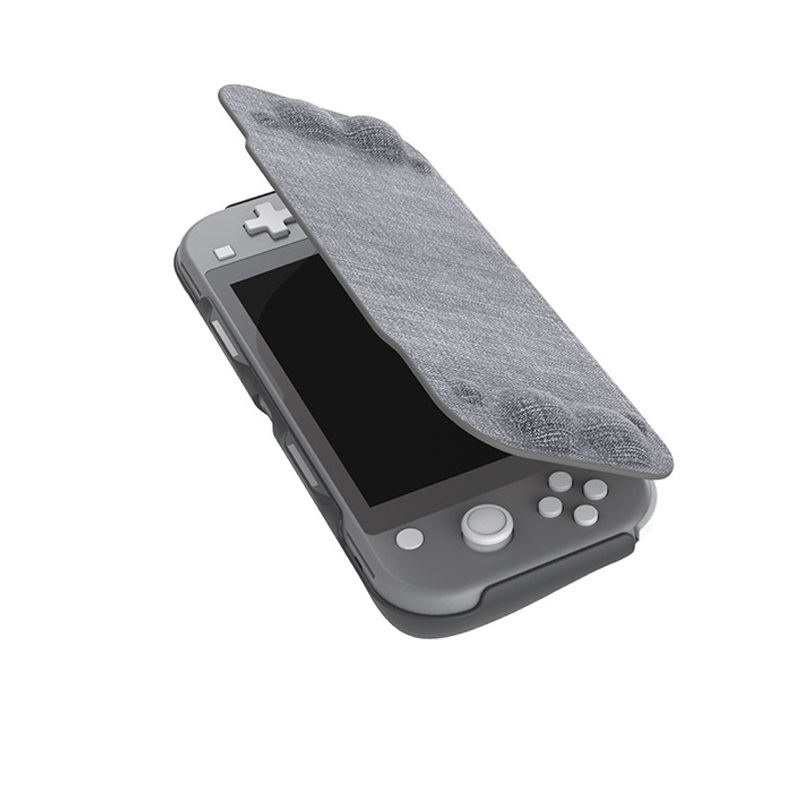 Mikiman Nintendo Switch Lite Protective Case Magnetic Flip Cover Carrying Case with Kickstand MKL-0116