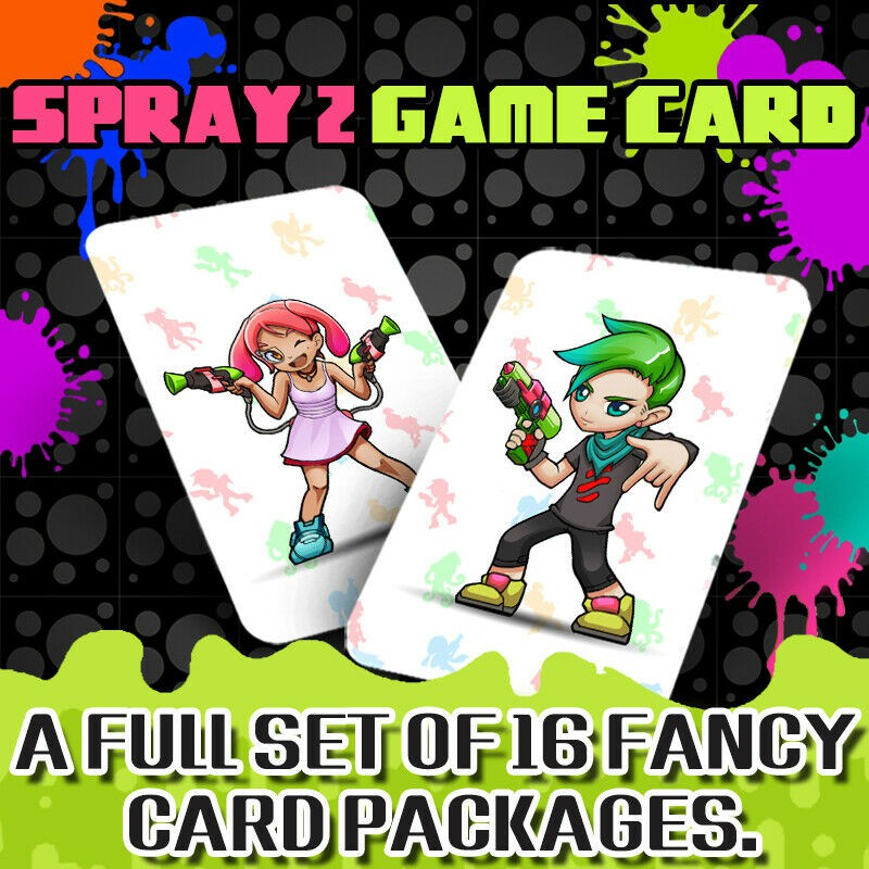 Splatoon 2 Amiibo NFC Tag Cards for Nintendo Switch / Switch lite / Wii U 16 Pcs [ship From Kl Local Seller]