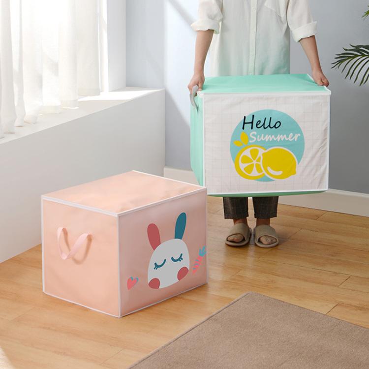 Clothing Storage Box Household Toy Sorting Box Organizing Basket Nordic Style Foldable Waterproof Durable Fabric