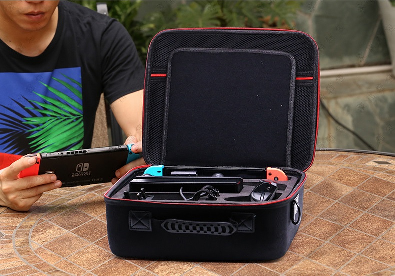 Nintendo Switch Hard Shell Carrying Case Protective Travel Cover Storage Bag for Switch Console and Most Accessories