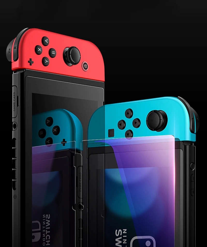 Nintendo Switch / Switch Lite 0.33mm 9H Anti Blue Light Tempered Glass [Protective Packaging]