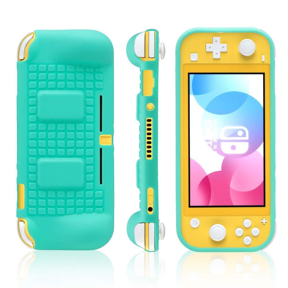 Nintendo Switch Lite Soft TPU Protective Grip Case with 2 Game Card Slot