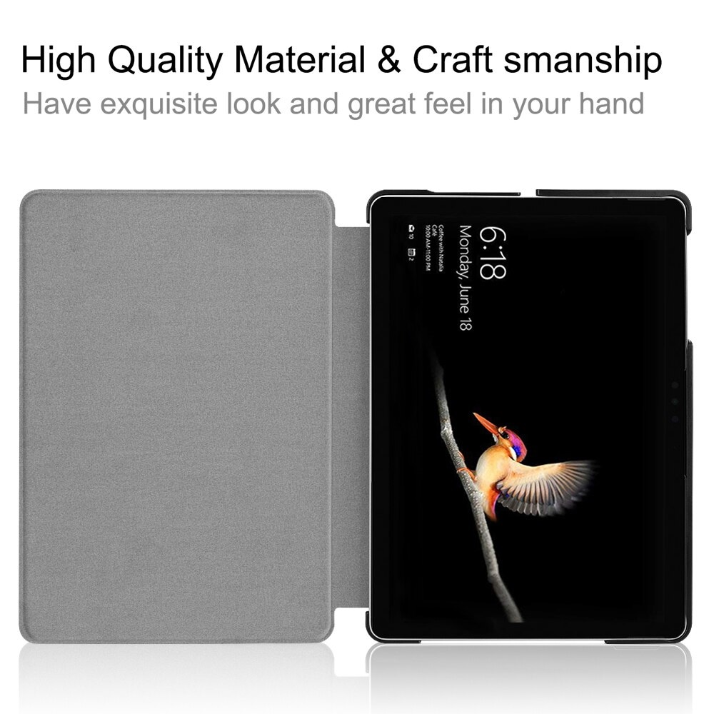 Microsoft Surface Go / Go 2 10'' inch Premium Magnetic Smart Cover Leather Case Tablet Ultra-thin Fold Stand